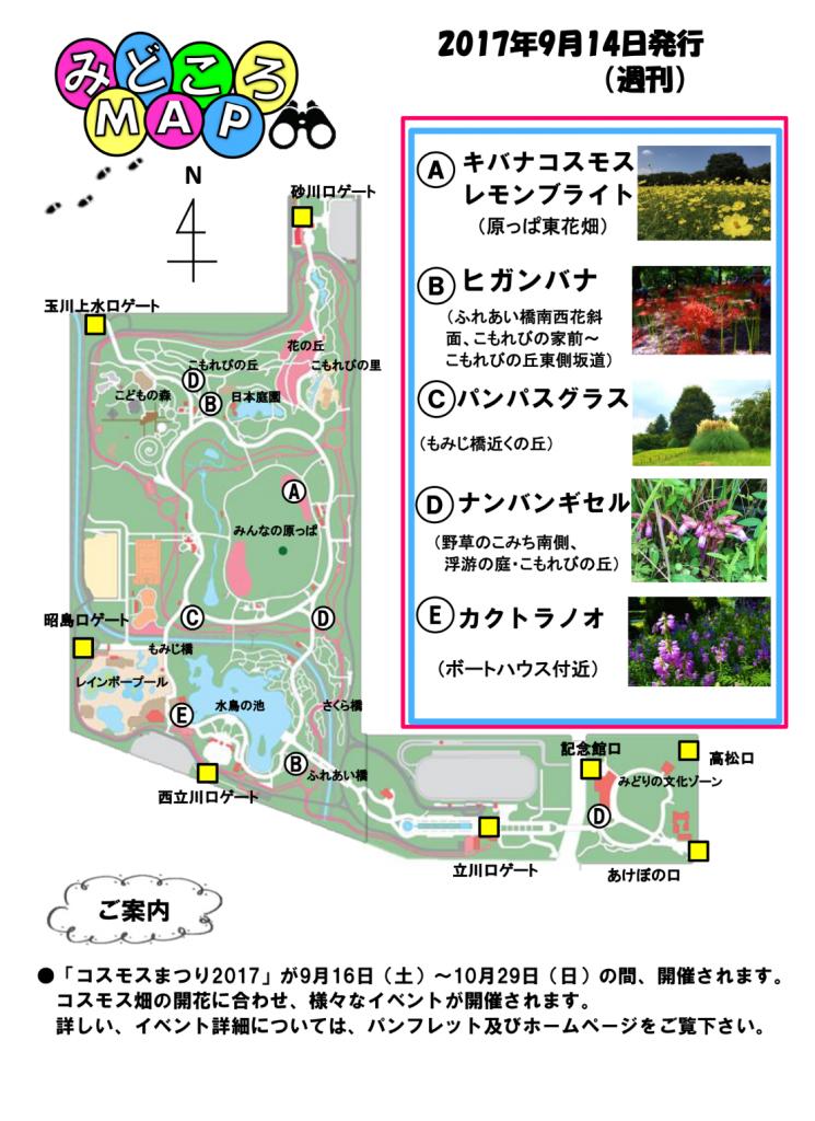見どころマップ