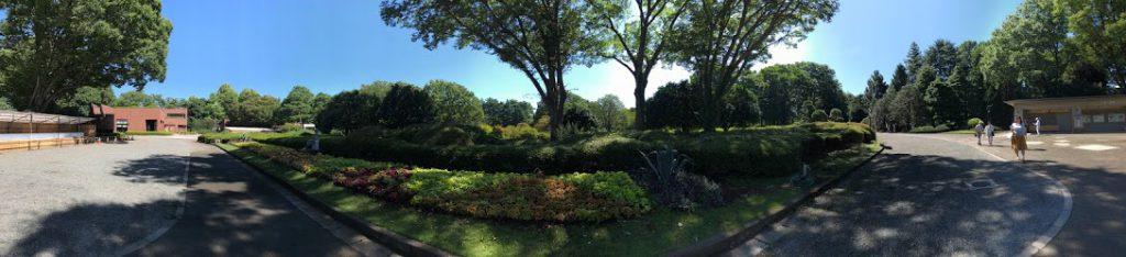 神代植物公園 入園全景