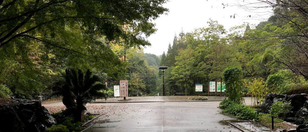 東山植物園 星ヶ丘門 トンネルを抜けて