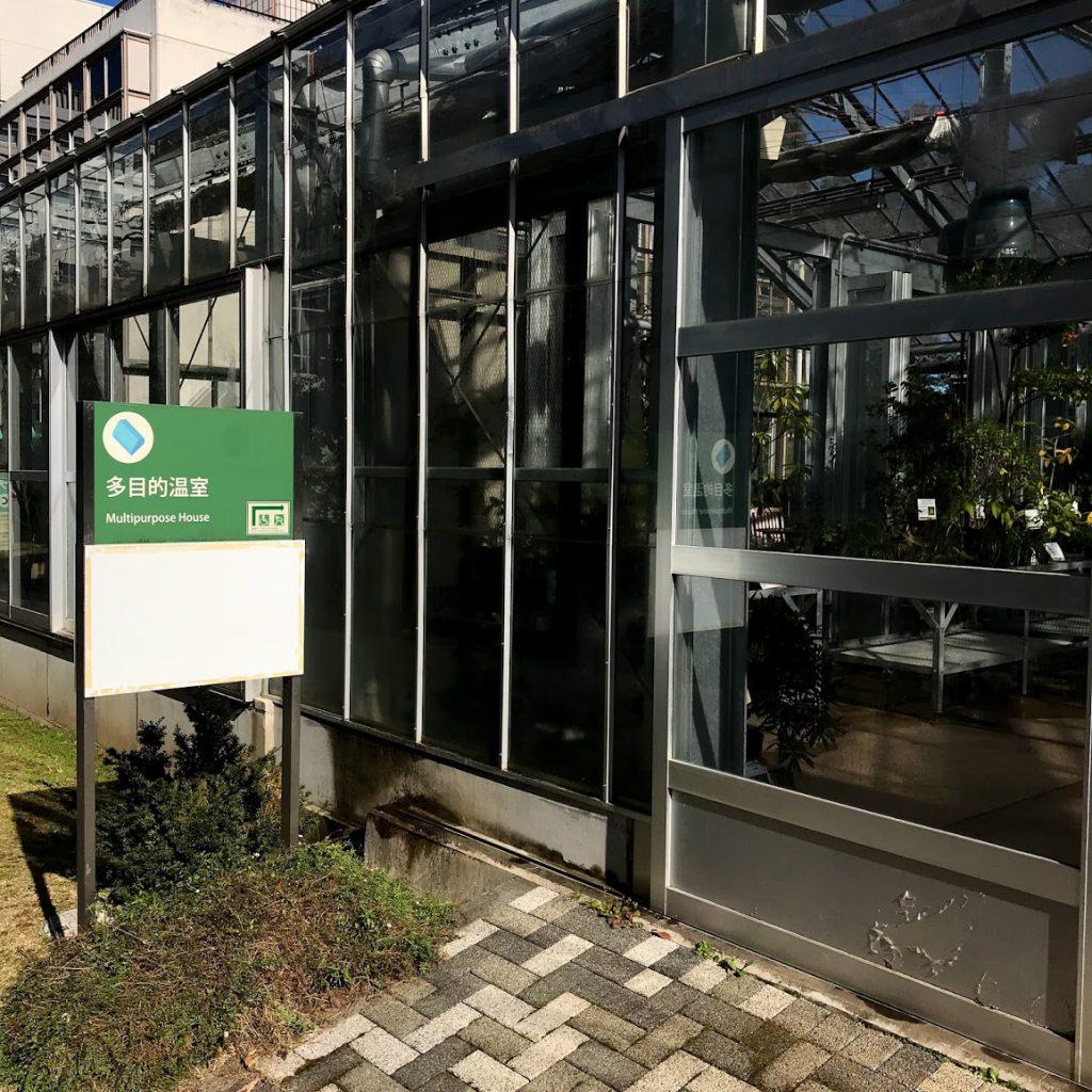 筑波実験植物園 多目的温室