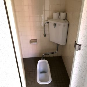 筑波実験植物園 屋外 トイレ