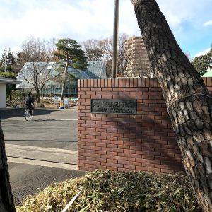 東京都薬用植物園 正門
