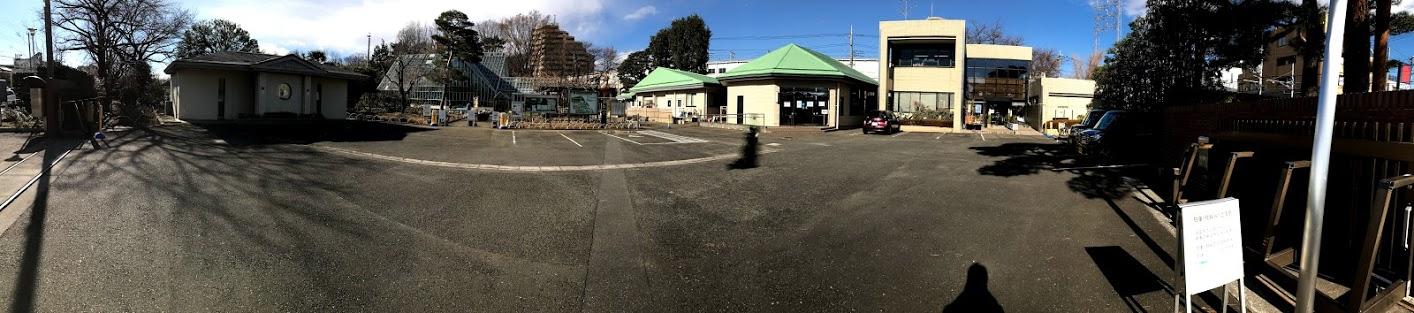 東京都薬用植物園 正面から全景