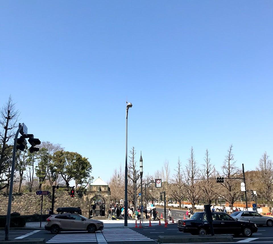 乾通り公開 和田倉門より