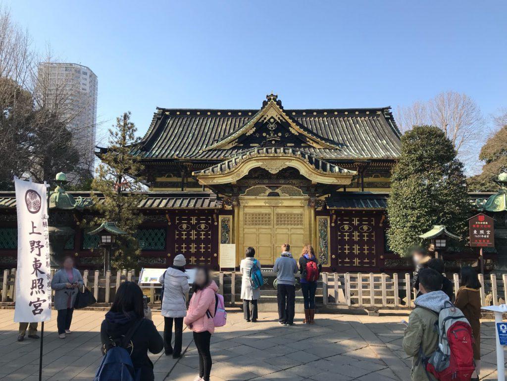 上野東照宮正面写真