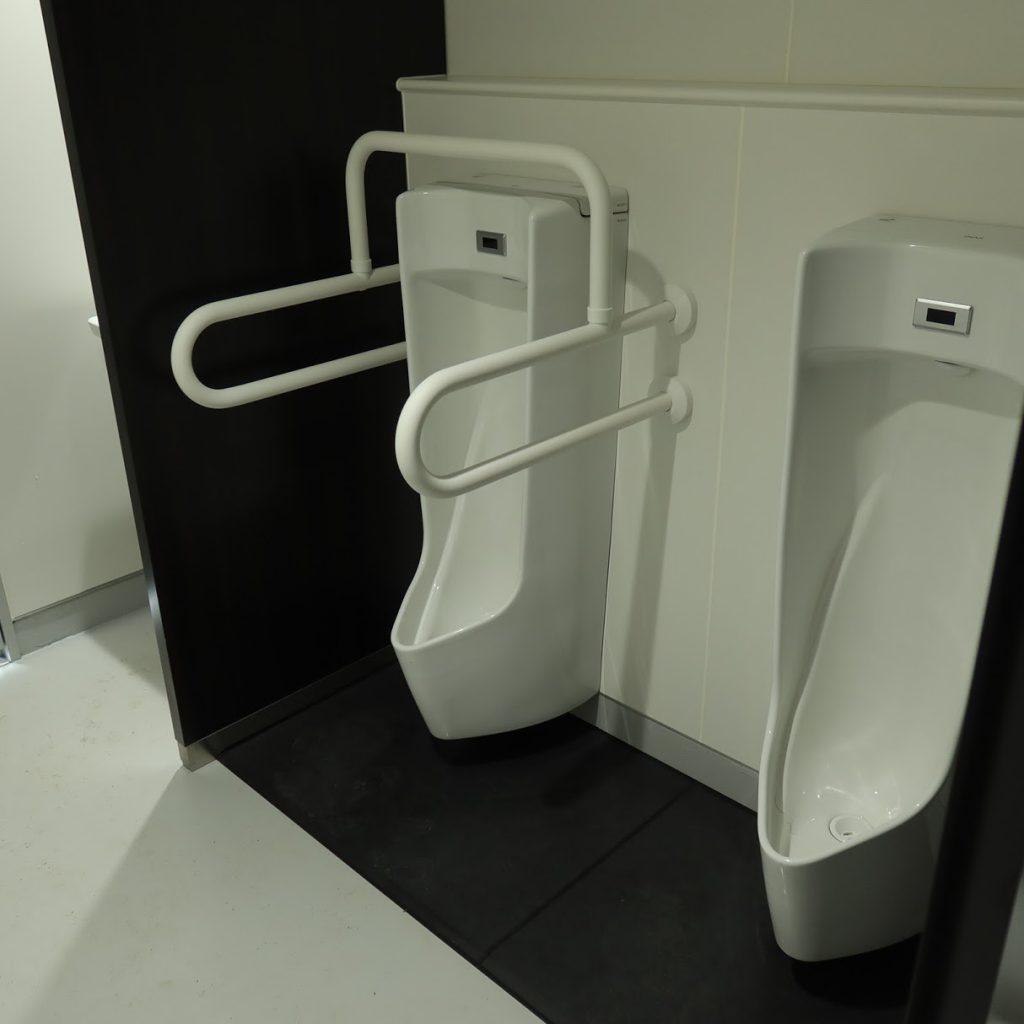 小石川植物園の温室のトイレ