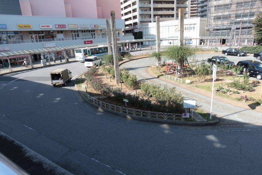 八千代緑が丘駅前ロータリー